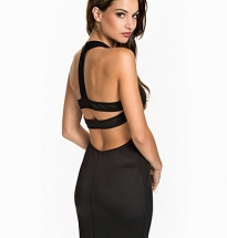 Back Strap Cut Out Dress