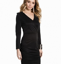 Black Rouched Dress