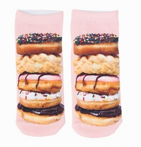 Stacked Donut Ankle