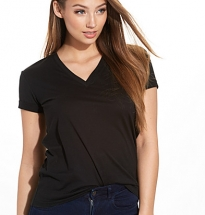 Superfine Jersey V-Neck