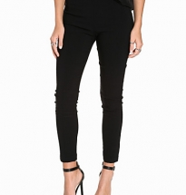 Bengaline Slim Leg Cropped Trousers