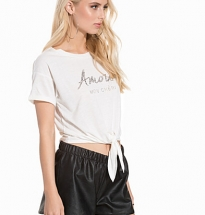 Amour Tie Front T-Shirt