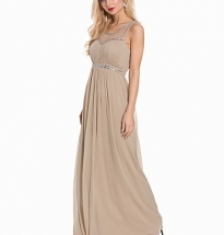 Bling Back Maxi Gown