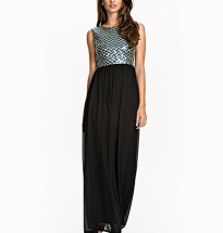 Aztek Sequin Maxi Dress