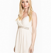 Cross Front Diamonte Dress