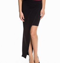 Asymmetric Split Maxi Skirt