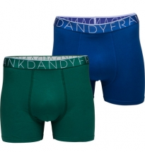 Frank Dandy 2-Pack Men Boxer Blue/Green S