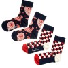 Happy Socks - 2-pack Kids Paisly Socks Navy