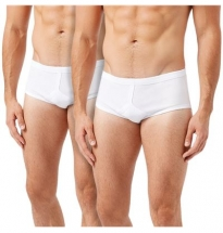 Wolsey - Classic Cotton Brief White