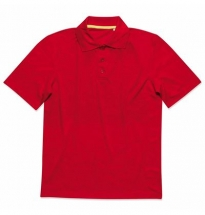 Stedman - Active 140 Polo Red