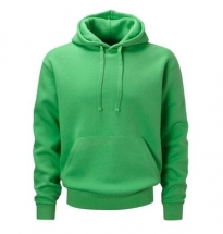 Russell - Authentic Hooded Sweat Green