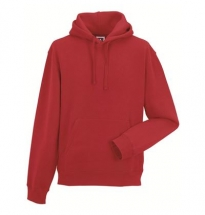 Russell - Authentic Hooded Sweat Red