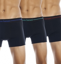 Bruno Banani - 3-pack Cotton Shorts Black