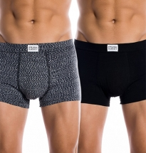 Frank Dandy - 2-pack Bamboo Trunk Black