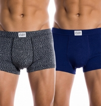 Frank Dandy - 2-pack Bamboo Trunk Deep Cobalt