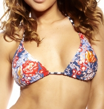 Oneill - M&M Triangle Bra Blue