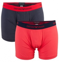 Armani - SC 111199 1S718 Boxer 02074 Black/Red