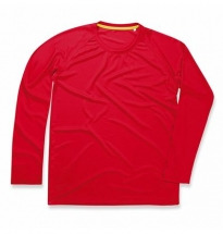 Stedman - Active 140 Long Sleeve Red