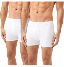 Wolsey - Cotton Lycra Hipster Trunk White