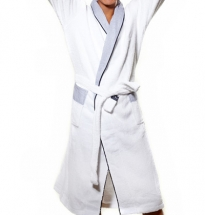 Newport - Riviera Bathrobe White