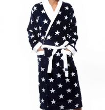 Newport - Chicago Bathrobe Blue