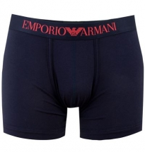 Armani - SC 110998 Boxer OW515 Navy Blue/Red