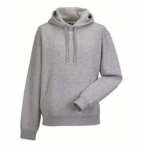Russell - Authentic Hooded Sweat Greymarl