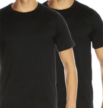 Tommy Hilfiger - 2-pack Crew T-shirt Black