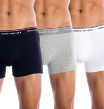Tommy Hilfiger - 3-pack Premium Boxer Black Grey White