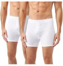 Wolsey - Classic Cotton Trunk White