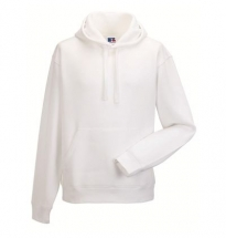Russell - Authentic Hooded Sweat White